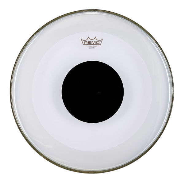 "Remo 18"" Powerstroke 3 Clear Dot BD"