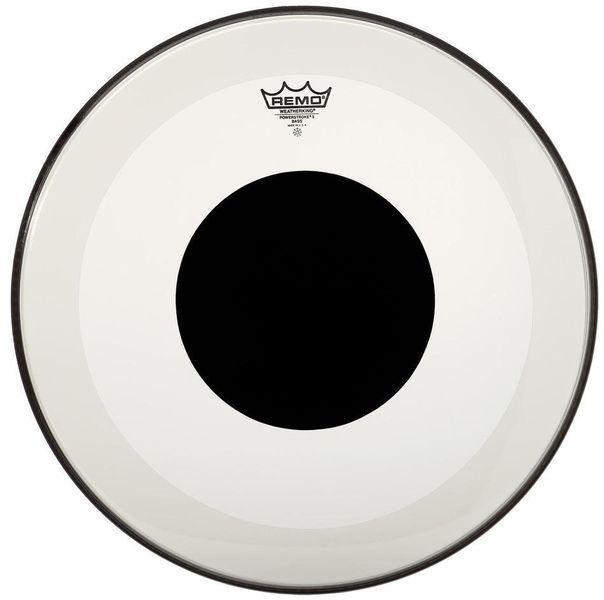 "Remo 18"" Powerstroke 3 Clear Dot BD"