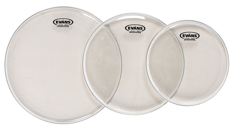 Evans G2 Studio Set clear