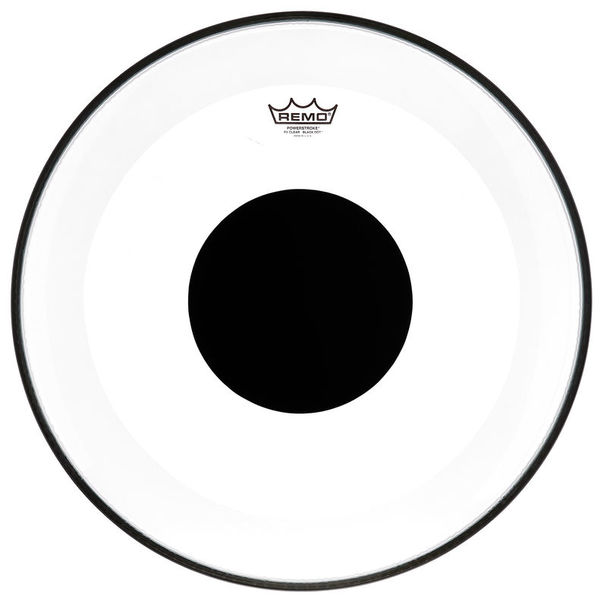 "Remo 20"" Powerstroke 3 Clear Dot"
