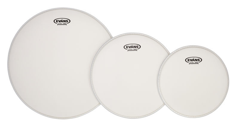 Evans G2 Fusion / Rock 2 Set Coated