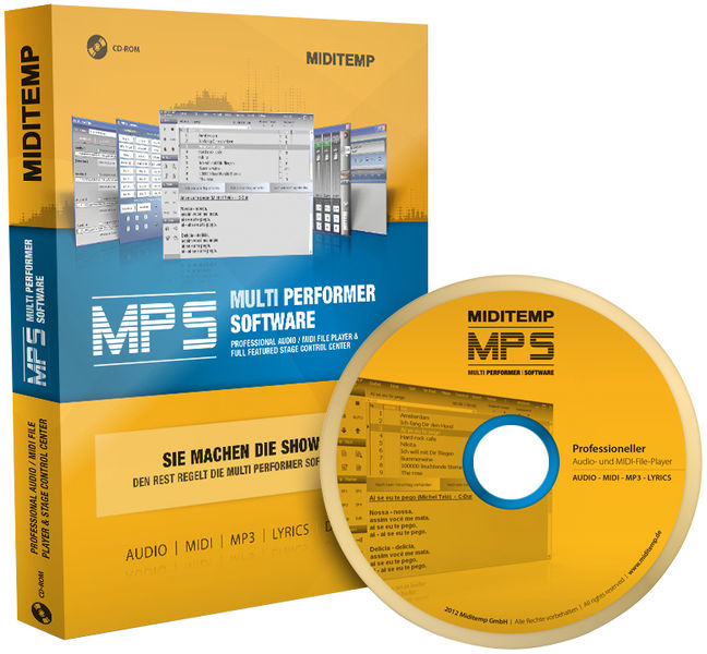 Miditemp MPS Multi Performer Software