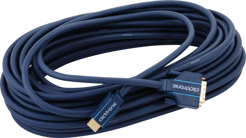 Clicktronic HDMI - DVI Casual Cable 15m