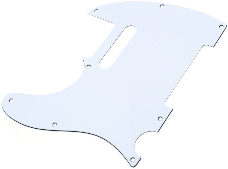Harley Benton Parts Pickguard T-Style WH LH