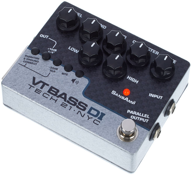 Tech 21 SansAmp Character VT Bass DI