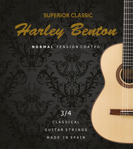 Harley Benton Superior Classic Coated NT 3/4