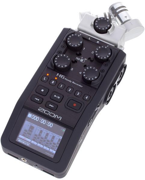 Zoom H6 grabador portátil