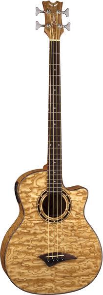 Dean Guitars Exotica Quilt Ash A/E Bass GN