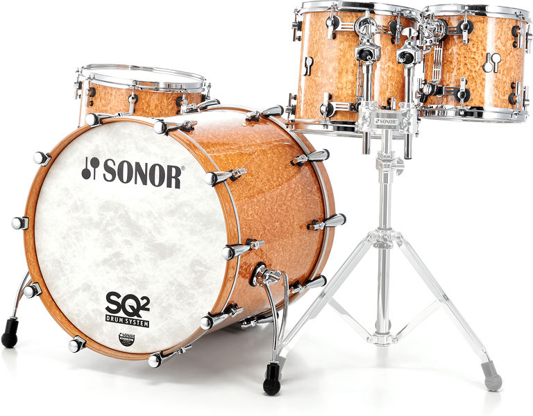 Sonor SQ2 Set Rock Birdseye Amber