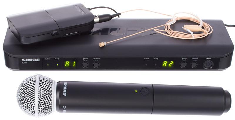 Shure BLX1288/MX53 Combo S8