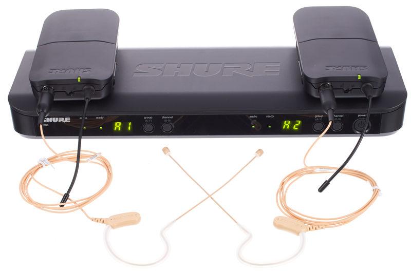Shure BLX188/MX53 Combo S8