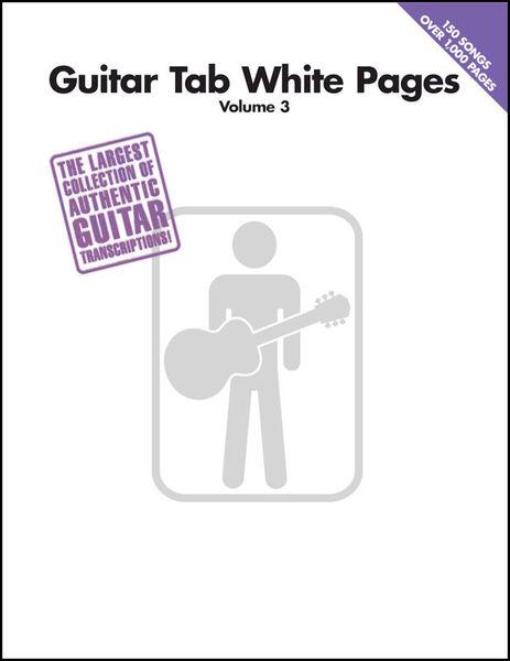 Hal Leonard Guitar Tab White Pages Vol.3