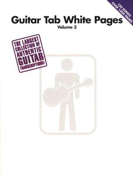 Hal Leonard Guitar Tab White Pages Vol.3