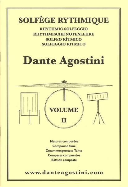 Dante Agostini Solfège Rhythmique Vol.2