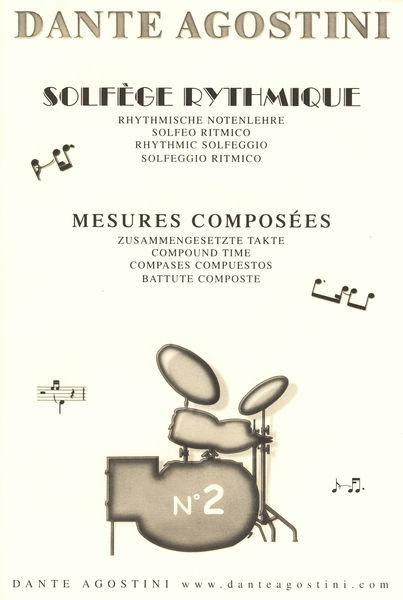 Dante Agostini Solfege Rhythmique Vol.2