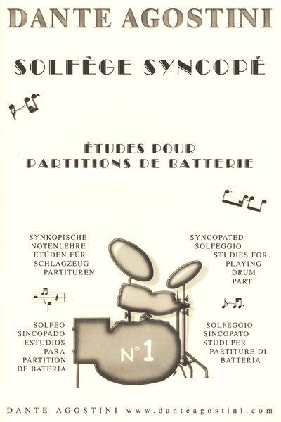 Dante Agostini Solfege Syncope Vol.1