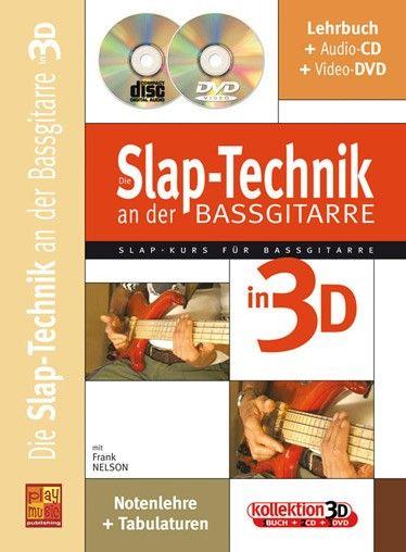 Carisch Slap-Technik Bassgitarre 3D