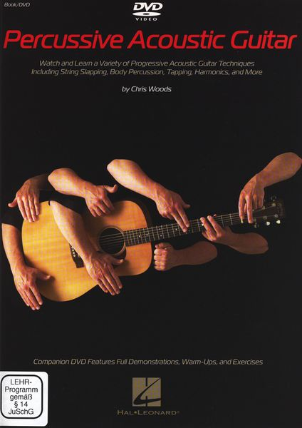 Hal Leonard Percussive Acoustic Guitar DVD