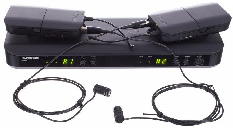 Shure BLX188/W85 Combo Q25