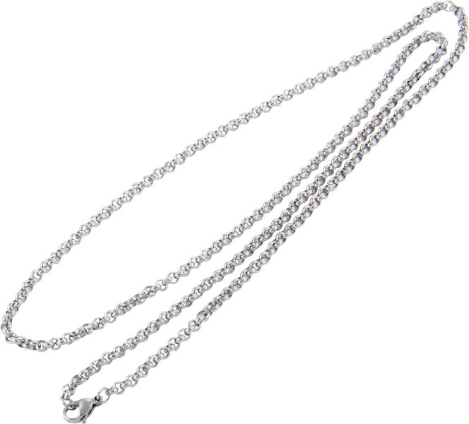 Rockys Necklace Stainless Steel 60