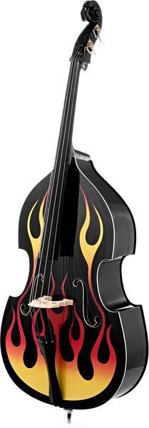 Thomann Rockabilly Flames BKE 3/4