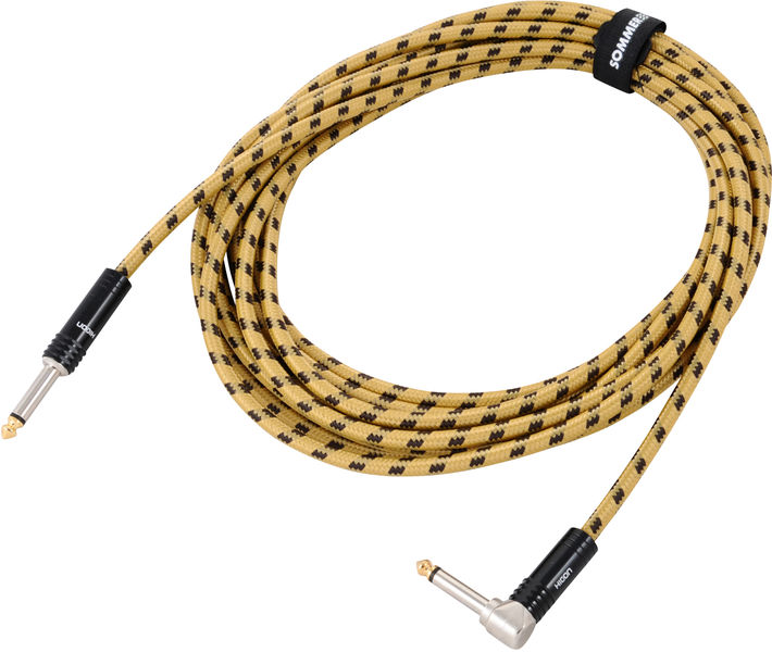 Sommer Cable Classique Jack Angled YE 6m