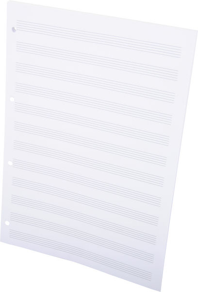 ge-gra-Muster Note Pad Perforated A4