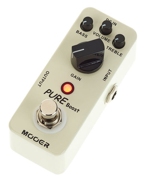 New Mooer Pure Boost Clean Boost Micro Guitar Effects Pedal!