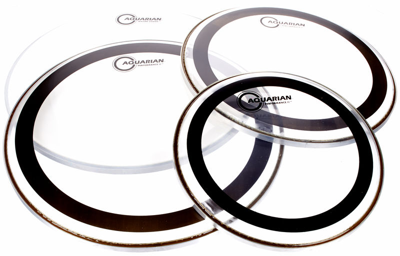 Aquarian PF-A Drum Head Set Studio