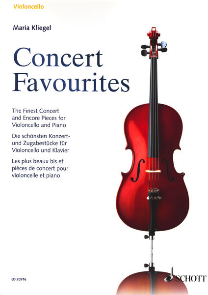 Schott Concert Favourites Cello