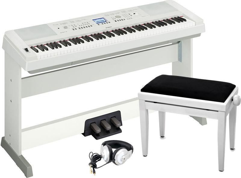 Yamaha DGX-650 WH Set