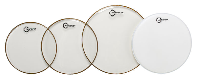 Aquarian CC-B Drum Head Set Standard