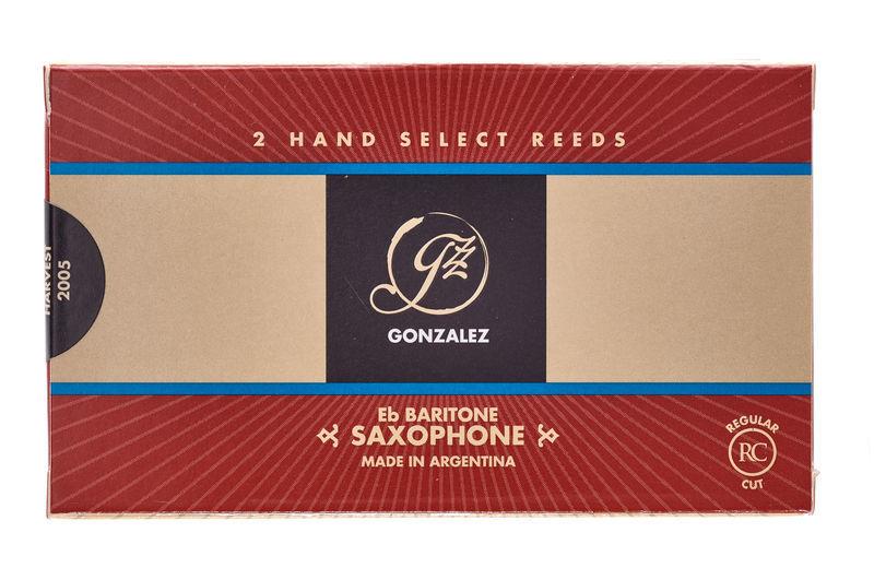 Gonzalez Baritone Sax 1,5 Reed (2pcs)