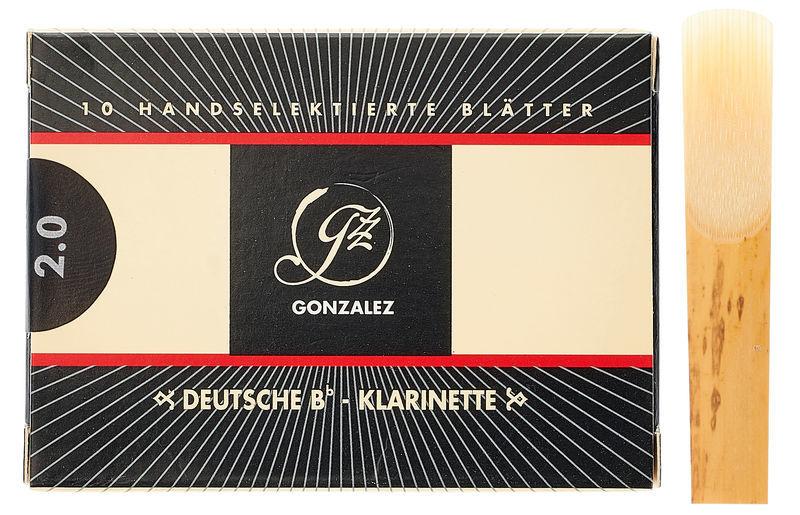 Gonzalez Clarinet Reed German 2