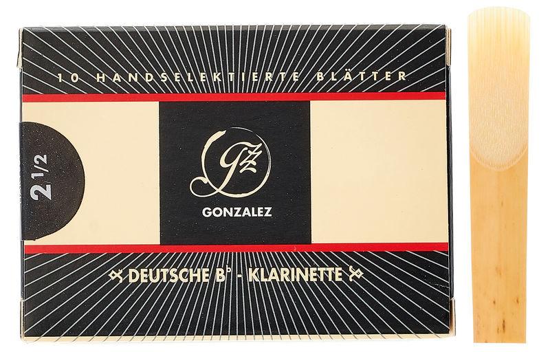 Gonzalez Clarinet Reed German 2,5
