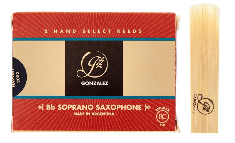 Gonzalez Soprano Sax 3 Reed (2pcs)