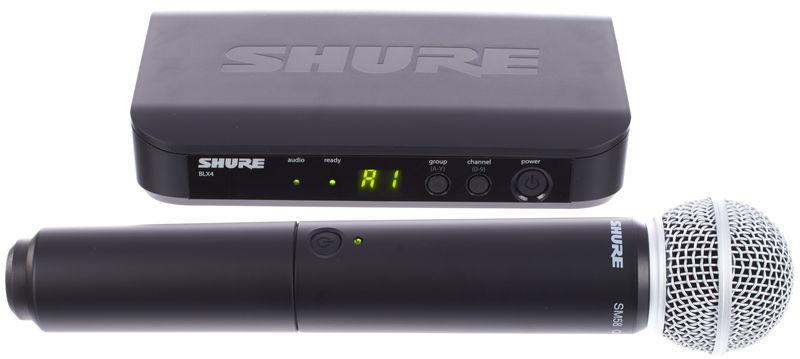 Shure BLX24/SM58 K3E