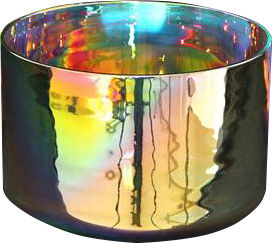 SoundGalaxieS Crystal Bowl Rainbow 16cm
