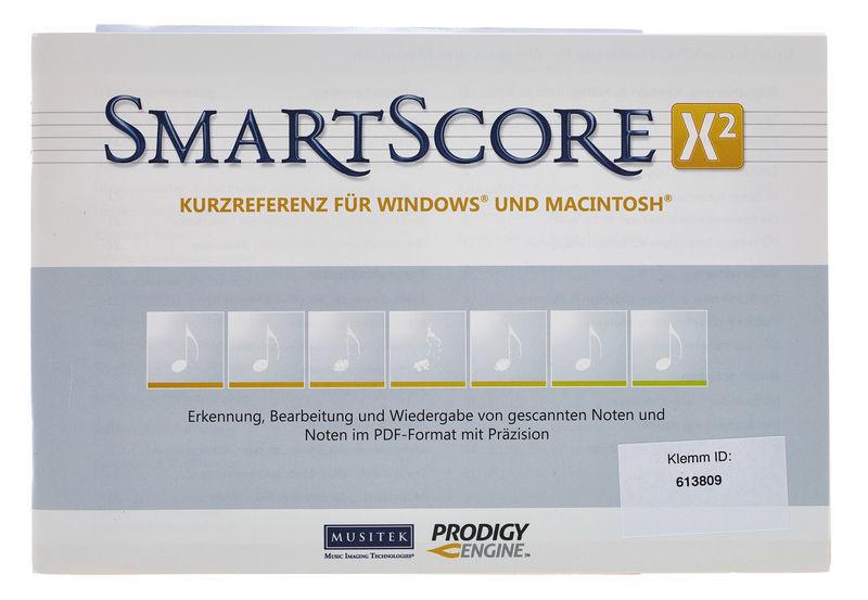 Musitek SmartScore X2 Pro D Update