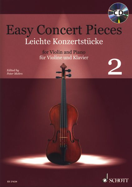 Schott Easy Concert Pieces Violin 2