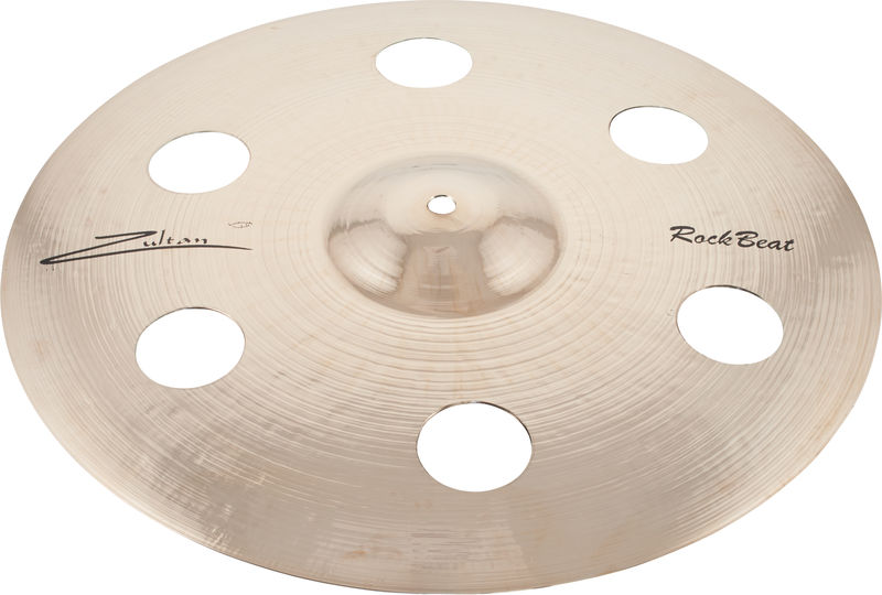 "Zultan 16"" Rock Beat Crash Holey"