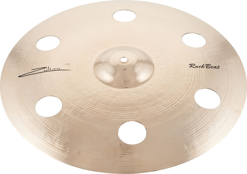 "Zultan 18"" Rock Beat Crash Holey"