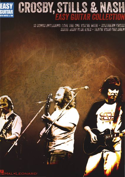 Hal Leonard Crosby Stills & Nash Easy Guit