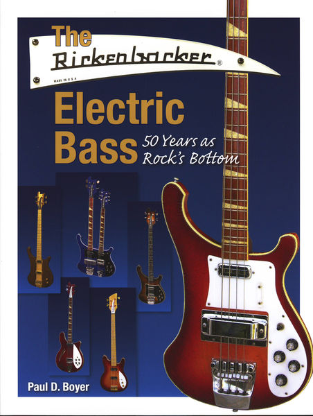 Hal Leonard Rickenbacker Electric Bass