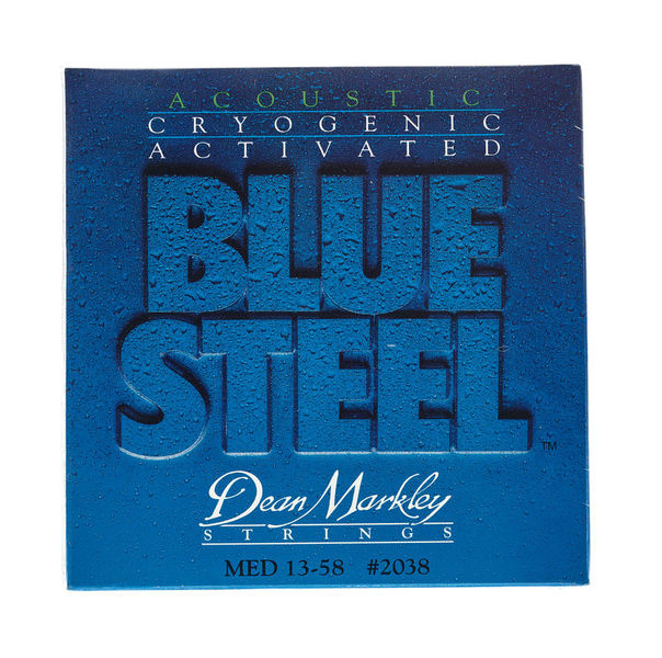 Dean Markley 2038 Medium Western Blue Steel
