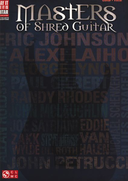 Hal Leonard Masters Of Shred Guitar