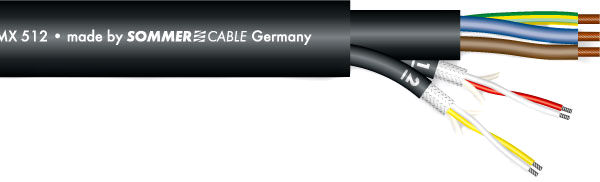 Sommer Cable Monolith 2 DMX Combi Cable