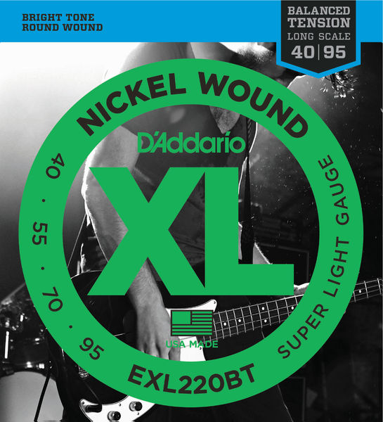 Daddario EXL220BT Balanced Tension