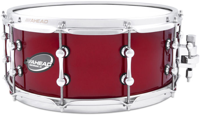 "Ahead 14""x06"" Snare Brass Pro Red"