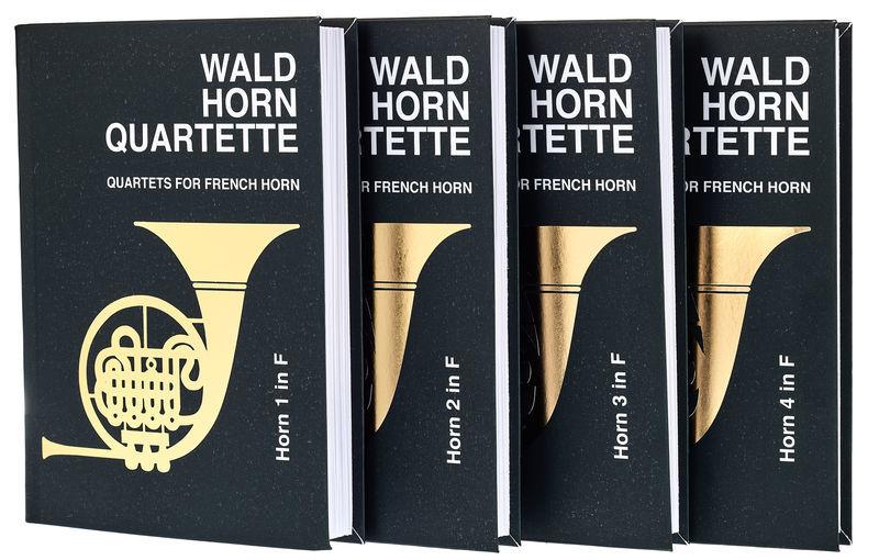 Friedrich Hofmeister Verlag Waldhornquartette 1